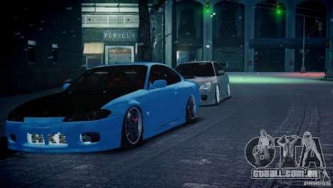 Nissan Silvia S15 JDM para GTA 4 vista direita