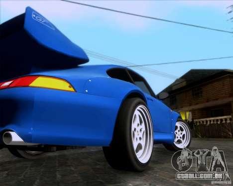 Porsche 911 GT2 RWB Dubai SIG EDTN 1995 para GTA San Andreas vista direita