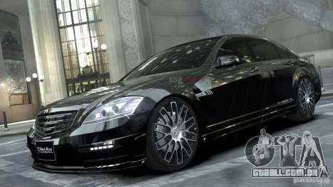 Mercedes-Benz S-Class W221 Black Bison 2009 para GTA 4