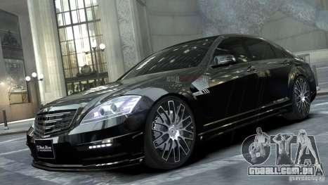 Mercedes-Benz S-Class W221 Black Bison 2009 para GTA 4