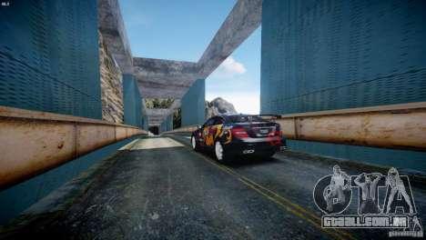 Mercedes Benz C63 AMG SAIBON Paint Job para GTA 4