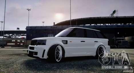 Range Rover Sport RR SCHEARZ para GTA 4 esquerda vista