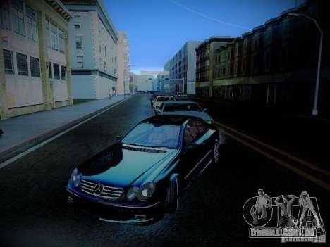 Mercedes-Benz CLK 55 AMG Coupe para GTA San Andreas vista superior