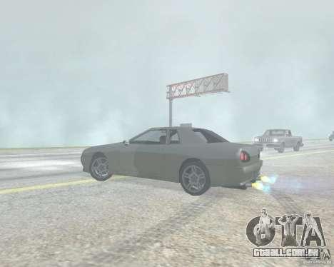 O Borrão quando usando Nitro para GTA San Andreas por diante tela