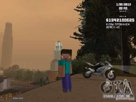 Steve para GTA San Andreas