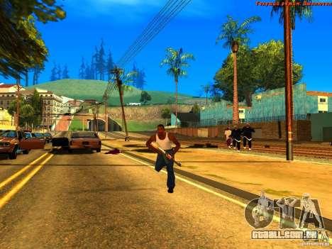 New Animations V1.0 para GTA San Andreas terceira tela