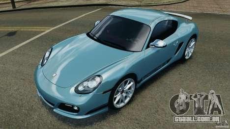 Porsche Cayman R 2012 [RIV] para GTA 4 interior