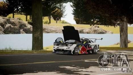MAZDA RX-7 Mad Mike 2 para GTA 4 vista interior