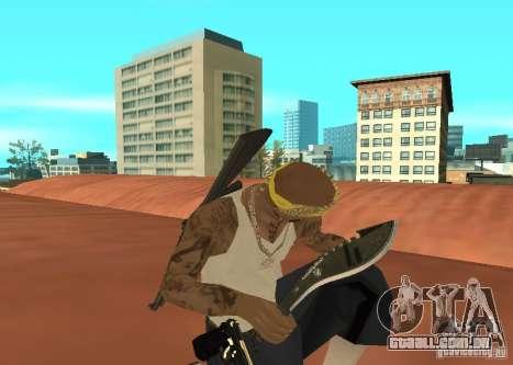 Khukuri para GTA San Andreas