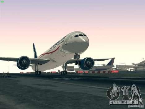 Boeing 787-8 Dreamliner AeroMexico para GTA San Andreas