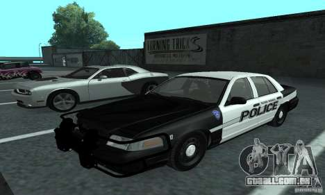 Ford Crown Victoria 2009 Slicktop para GTA San Andreas