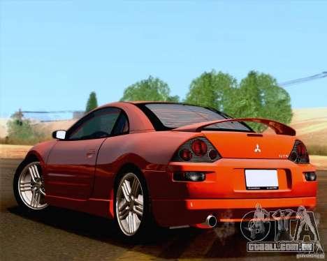 Mitsubishi Eclipse GTS 2003 para GTA San Andreas vista traseira