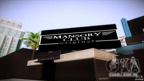 Mansory Club Transfender & PaynSpray para GTA San Andreas terceira tela