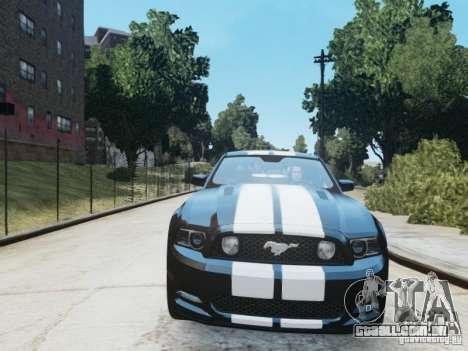 Ford Mustang GT 2013 para GTA 4 esquerda vista