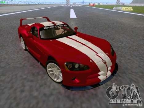 Dodge Viper GTS-R Concept para vista lateral GTA San Andreas