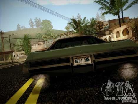 Chevrolet Impala 1972 para GTA San Andreas vista direita