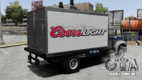 O novo anúncio para caminhão Yankee para GTA 4 esquerda vista