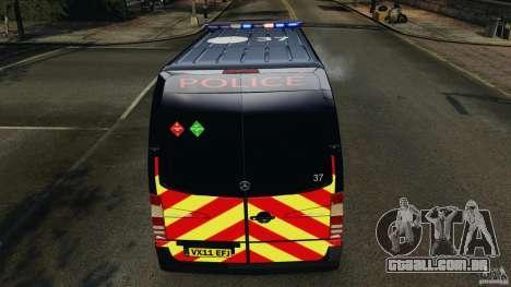Mercedes-Benz Sprinter Police [ELS] para GTA 4 motor