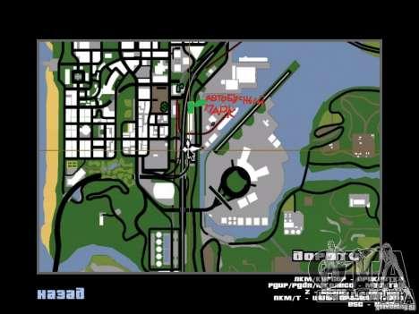Ônibus Parque versão v 1.2 para GTA San Andreas décimo tela
