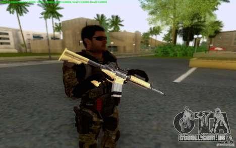 David Mason para GTA San Andreas segunda tela