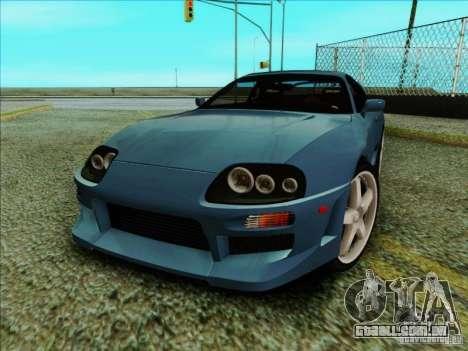 Toyota Supra RZ 1998 para GTA San Andreas esquerda vista