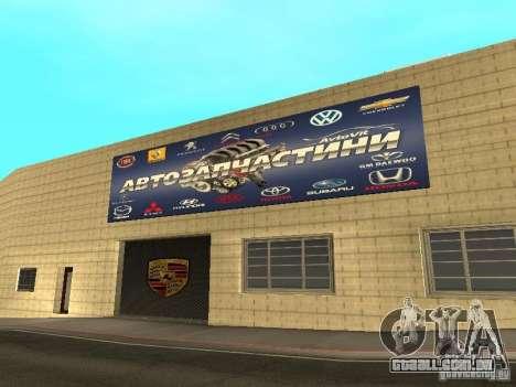 Salão do automóvel de Porsche para GTA San Andreas sétima tela