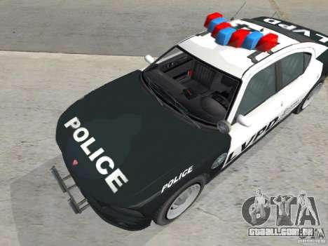 GTA 4 TBoGT de Buffalo para GTA San Andreas esquerda vista
