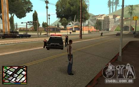 GTA V Interface para GTA San Andreas segunda tela