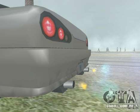 O Borrão quando usando Nitro para GTA San Andreas