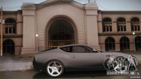 Aston Martin DB7 Zagato 2003 para GTA San Andreas esquerda vista