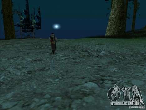 Leatherface para GTA San Andreas terceira tela