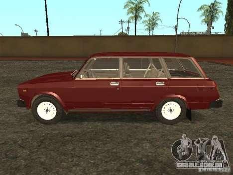 VAZ 2104, v. 2 para GTA San Andreas esquerda vista