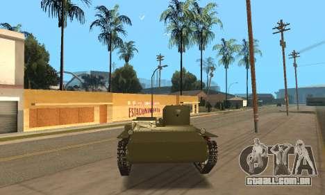 T-38 para GTA San Andreas vista direita