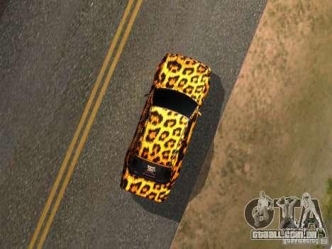 Mercedes-Benz E500 Leopard para GTA San Andreas vista direita