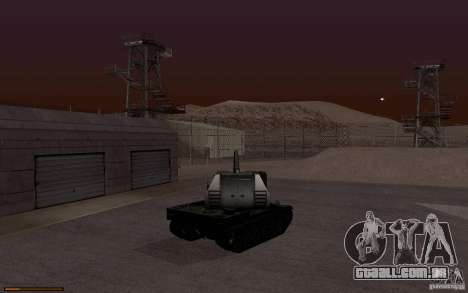 Bat. Chat. 155 SPG para GTA San Andreas vista direita