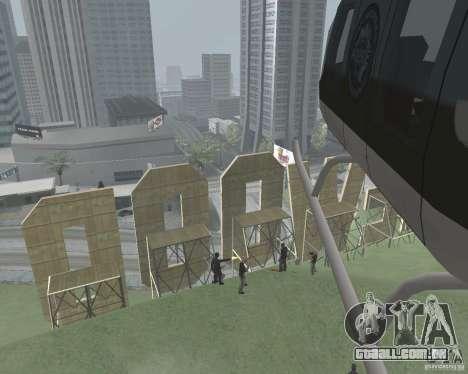 Área restrita Vinewood para GTA San Andreas terceira tela