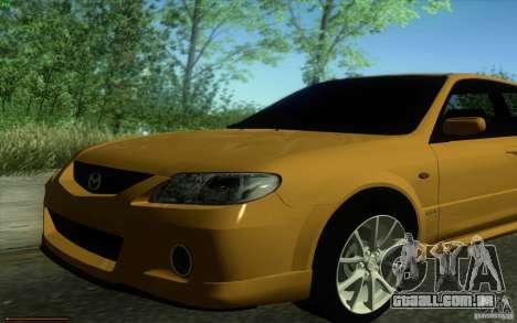 Mazda Speed Familia 2001 V1.0 para GTA San Andreas vista direita