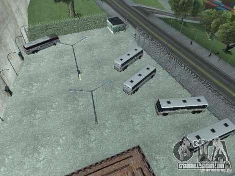 Ônibus Parque versão v 1.2 para GTA San Andreas