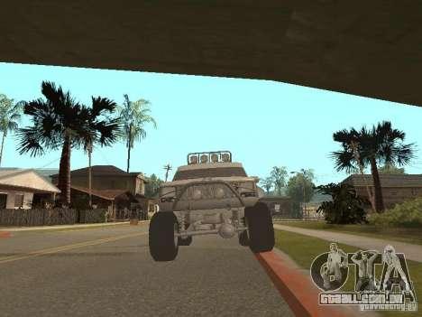 Jeep Cherokee 1984 v.2 para GTA San Andreas traseira esquerda vista