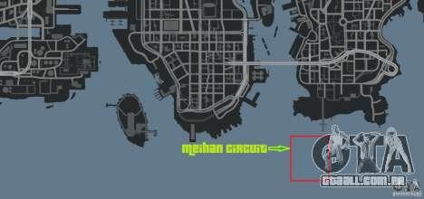 Meihan Circuit para GTA 4 nono tela