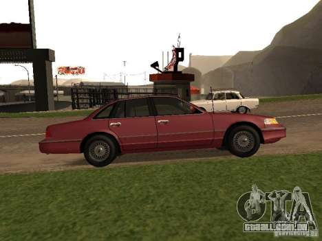 Ford Crown Victoria LX 1994 para GTA San Andreas esquerda vista