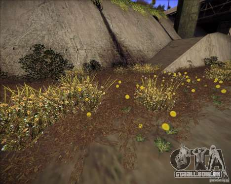 New grass para GTA San Andreas terceira tela