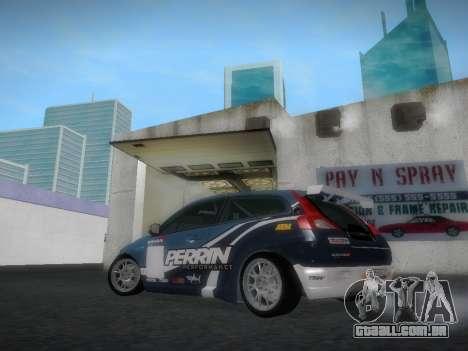 Volvo C30 Race para GTA San Andreas vista traseira