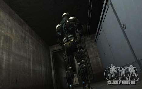 Crysis 3 The Hunter skin para GTA 4 sexto tela