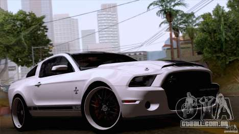 Ford Shelby GT500 Super Snake para GTA San Andreas