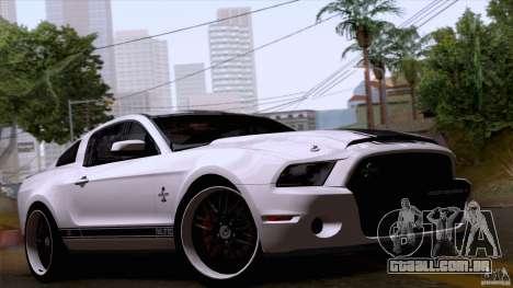 Ford Shelby GT500 Super Snake para GTA San Andreas