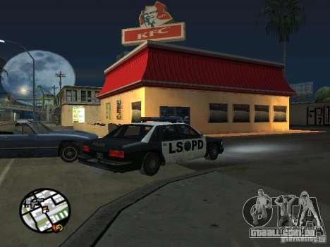 Novos restaurantes de texturas para GTA San Andreas oitavo tela