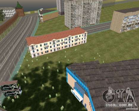 Nižegorodsk v. 0.1 BETA para GTA San Andreas segunda tela