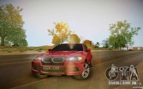 BMW X6 v1.1 para GTA San Andreas esquerda vista