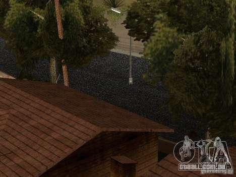 A nova Grove Street para GTA San Andreas por diante tela